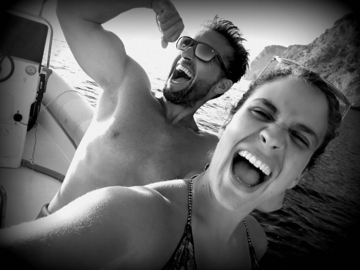 Diving with Saints