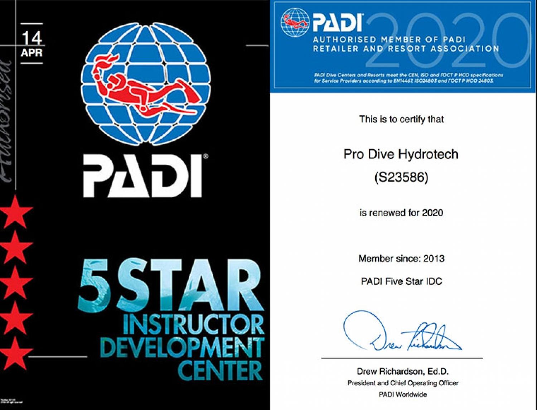 Pro Dive Hydrotech