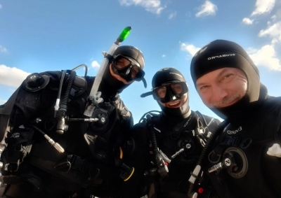 PADI Dry Suit speciality course